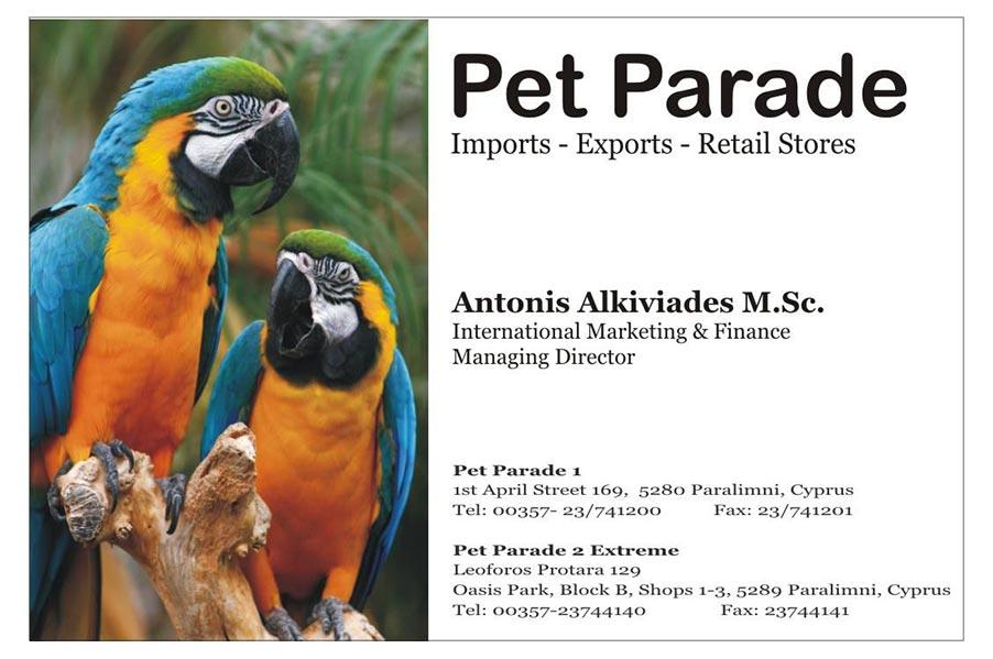 Pet Parade – Pet shop & Supplies