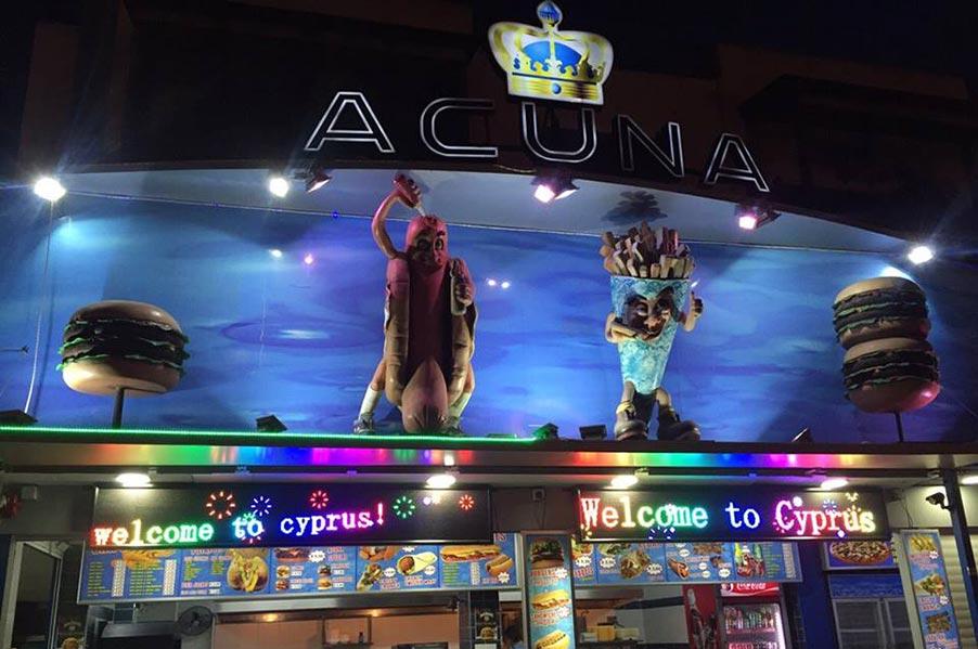 Acuna Take Away
