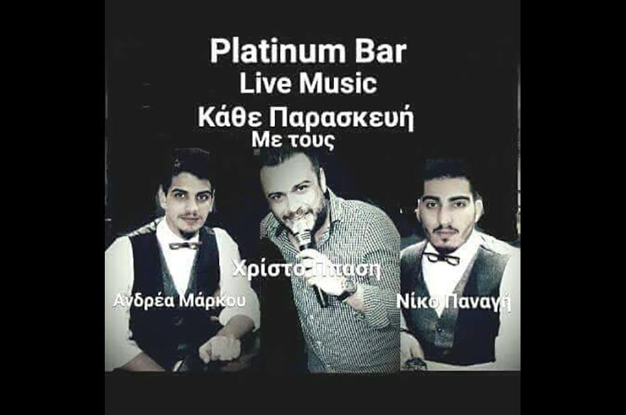Live Music Nights Every Friday @Platinum Bar