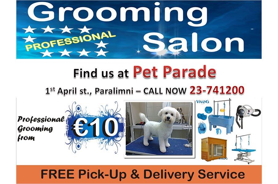 Pet Parade – Grooming Salon Book Now @ 23741200