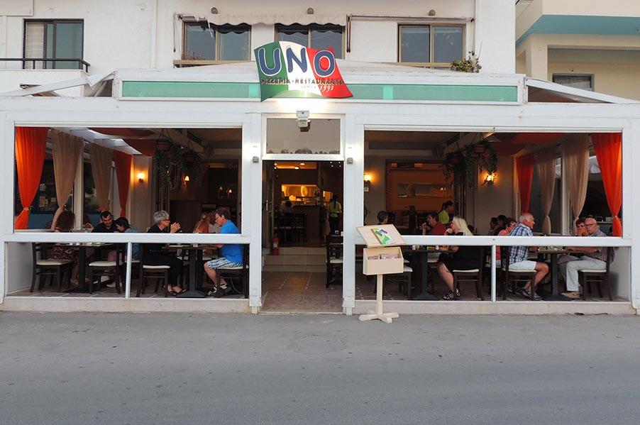 PIZZA UNO - Italian Restaurante