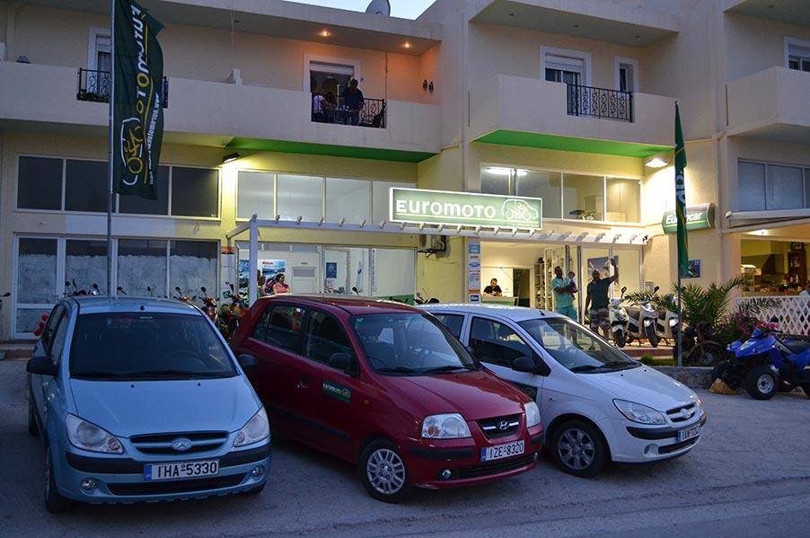 Euromoto Rent a Car or Moto