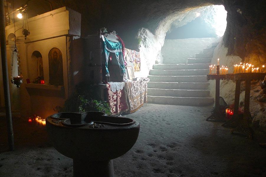 Cavernous Church of St Ioannis