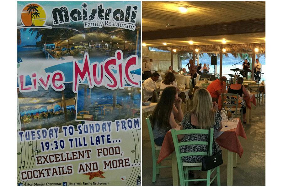 Maistrali Beach Bar