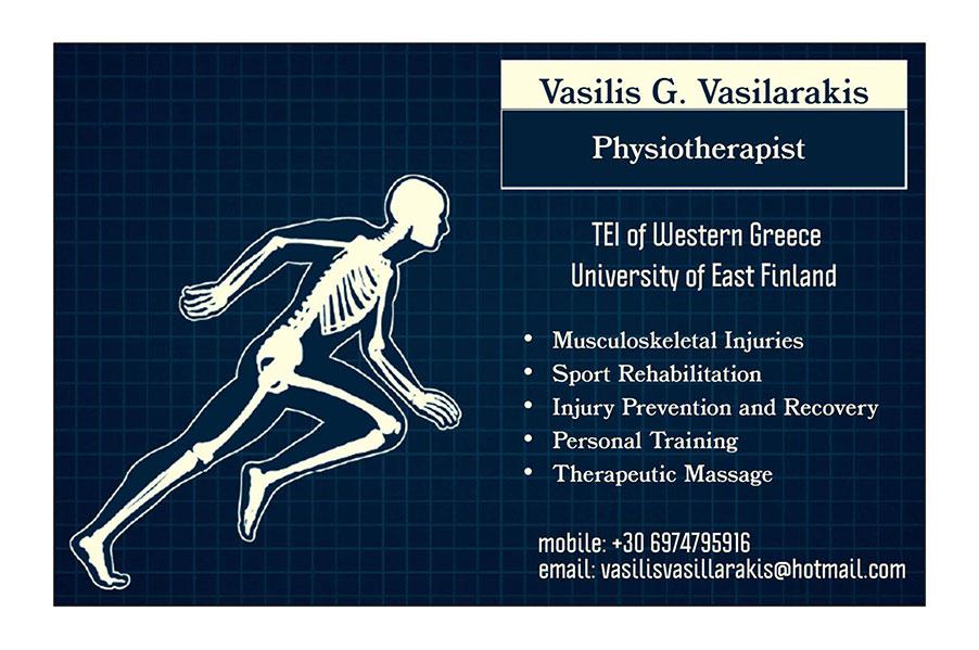 Vasilis G. Vasilarakis Physiotherapist