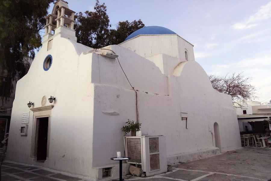 Virgin of Rosary (Catholic Church of Mykonos)