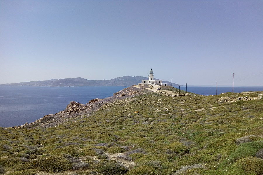Armenistis Cape and Lighthouse