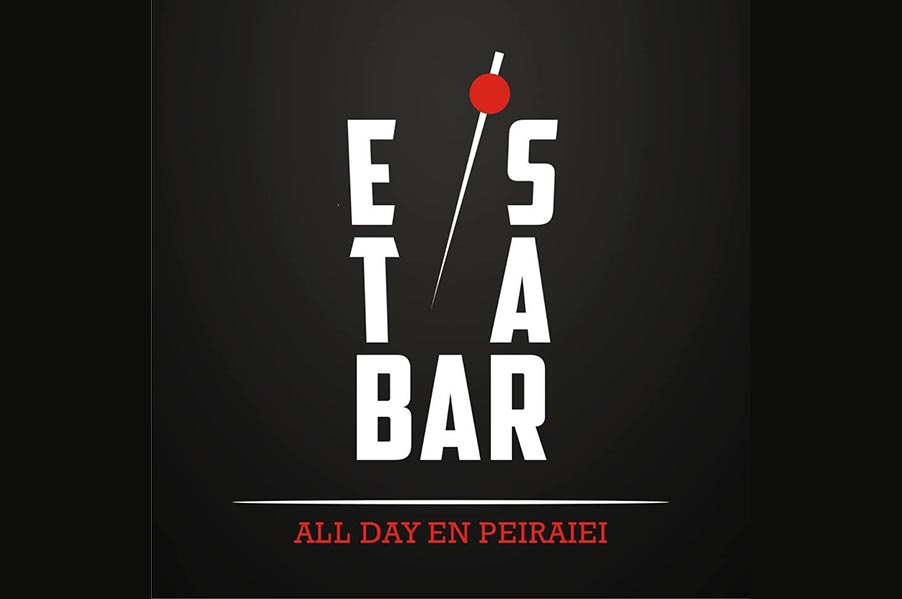 Estabar - En Peiraiei All Day Bar